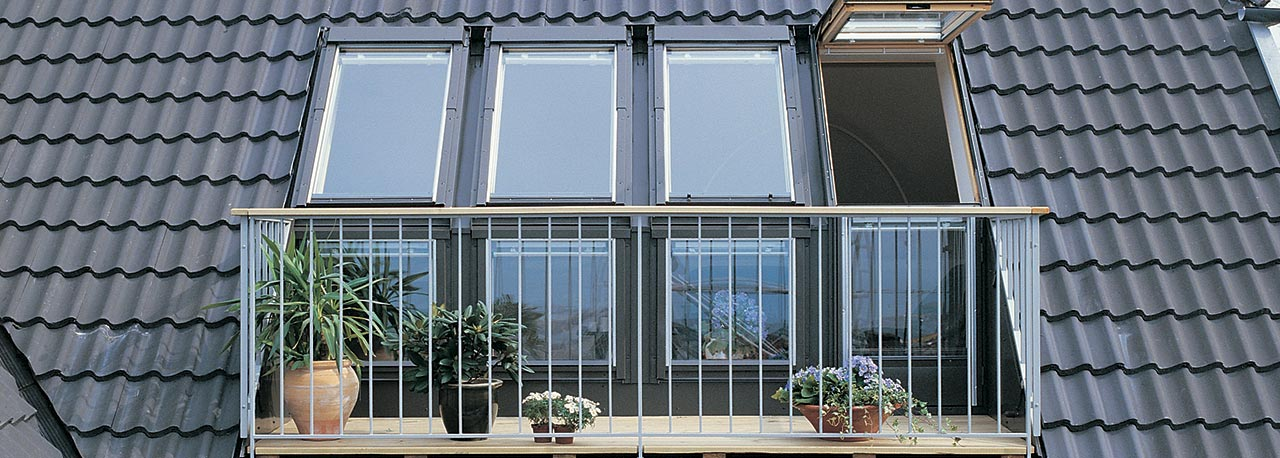 Dachfenster inspiration - Dachfenster mit balkon ...
